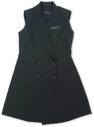 Whyte Studio Deactivate Sleeveless Blazer Dress Green