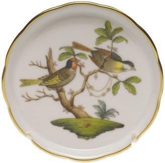 Herend Rothschild Bird Motif 11 Coaster