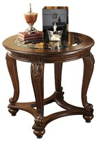 Ashley Norcastle End Table - Dark Brown - Signature Design®