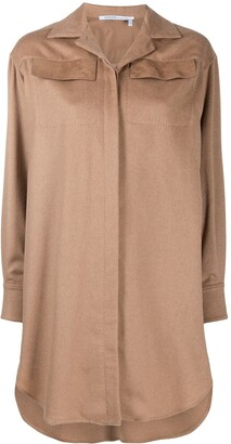Agnona Concealed-Fastening Shirt