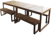 Large Exemplar Outdoor 10 Seater Table Set