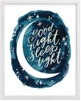 Pottery Barn Kids Midnight Wall Art by Minted® 8x10, White