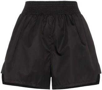 Prada smocked shell shorts