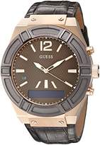 GUESS Men's Watch Connect Analog – Digital Quartz Leather C0001G2