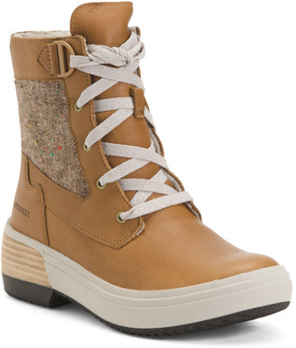 Waterproof Mid Lace Boots