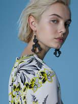 Diane von Furstenberg Braided Earrings