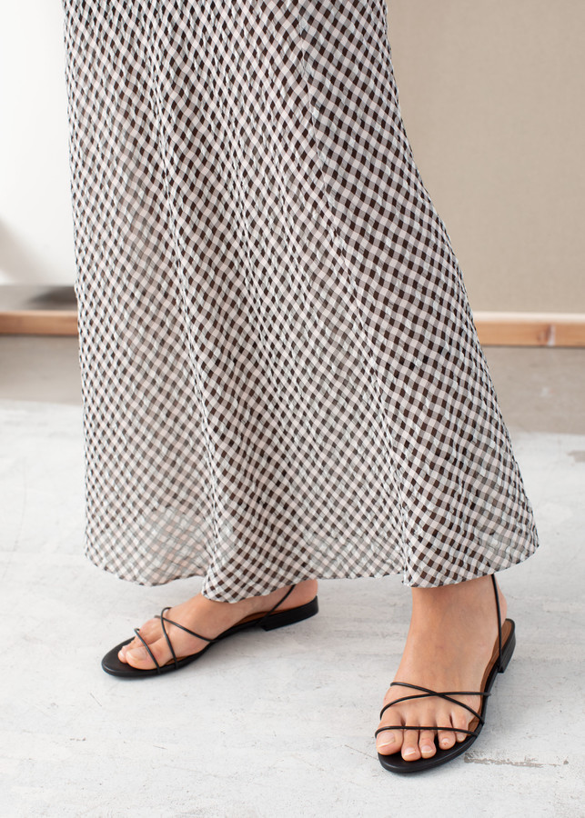 Thumbnail for your product : And other stories Gingham Midi Skirt