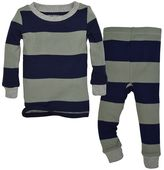 Toddler Burt's Bees Baby Organic Striped Top & Pants Set