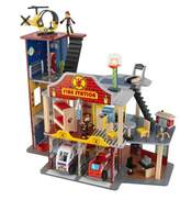 Kid Kraft Deluxe Fire Station Set