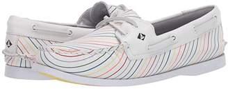 Sperry A/O 2-Eye Pride (White) Women's Shoes