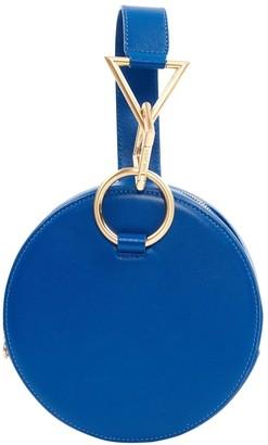 Tara Zadeh Blue Leather Handbags