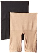 Ellen Tracy Women's Seamless Shape Control Long Leg Panty