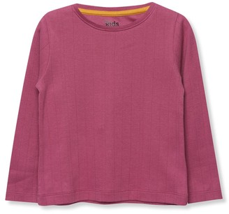 M&Co Pointelle top (3-12yrs)