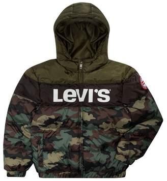 Levi's Water Resistant Rocket Puffer Jacket (Little Boys)