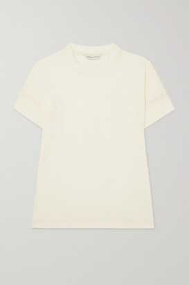 KING & TUCKFIELD Merino Wool T-shirt - Cream