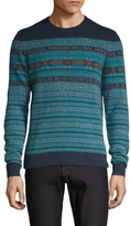 Original Penguin Engineered Wool Striped Sweater