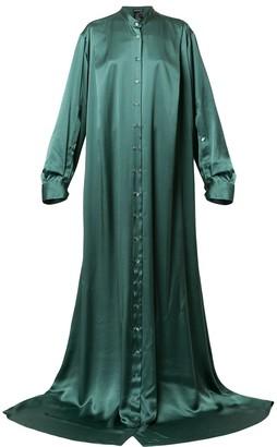 Ann Demeulemeester Long Button-Up Dress