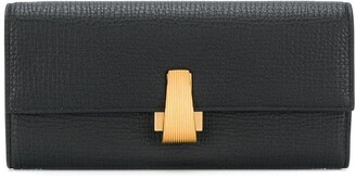 Bottega Veneta decorative clasp wallet