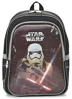 Disney STAR WARS SAC A DOS boys's Backpack in Black