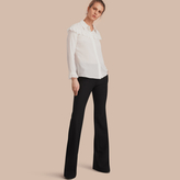 Burberry Wide-leg Technical Trousers