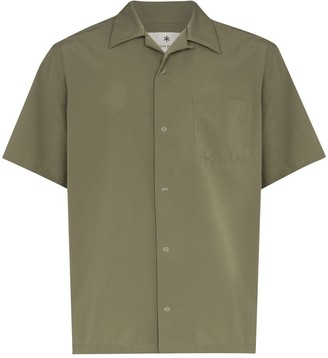 Snow Peak Press-Stud Bowling Shirt
