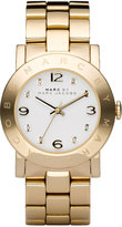 Marc by Marc Jacobs Watch, Women's Gold-Tone Stainless Steel Bracelet MBM3056