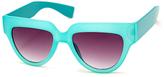 A. J. Morgan Turquoise Lollipop Sunglasses