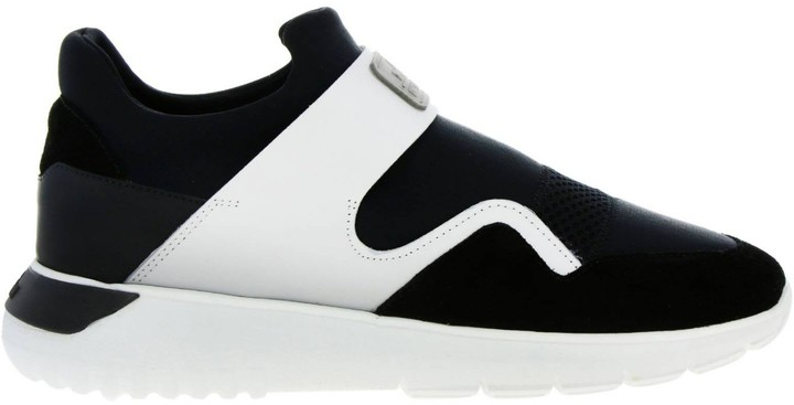 Sneakers 371 Interactive3 Sneakers Slip On In Neoprene Suede And Reflective Fabric