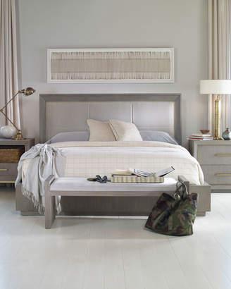 Century Furniture Kendall Velvet Upholstered California King Bed