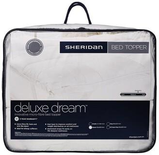 Sheridan Deluxe Dream Polyester Mattress Topper White