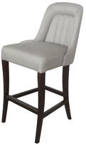 nuLoom Boho Elegant Linen Barstool