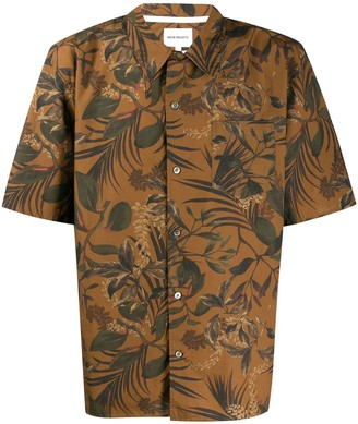 Norse Projects Floral Short-Sleeve Shirt