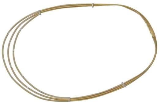 Marco Bicego Santorini 18K Yellow Gold Diamond Necklace