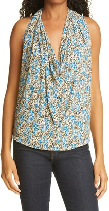 Ramy Brook Harriet Floral Halter Top