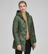 Andrew Marc Final Sale KAMERON CHEVRON DOWN COAT