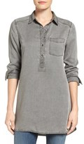 Women's Caslon Chambray Popover Tunic