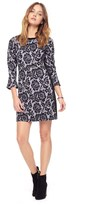 Juicy Couture Lace Printed Ponte Dress
