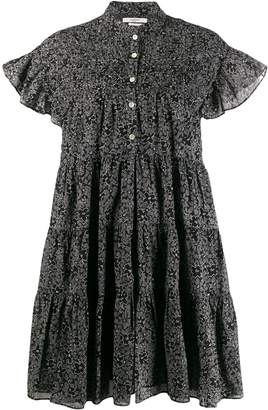 Etoile Isabel Marant floral tiered mini dress