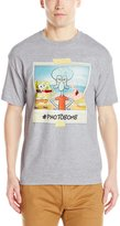 Freeze Men's Spongebob #Photobomb, Heather Grey