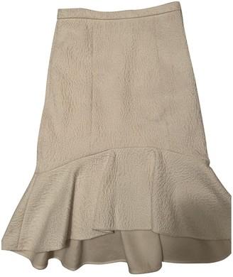 Tibi Ecru Skirt for Women