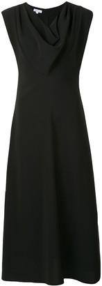 Beaufille Lorrain cowl neck crepe dress