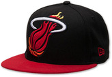 New Era Miami Heat NBA Mighty 2Tone 5950 Fitted Hat Shoe