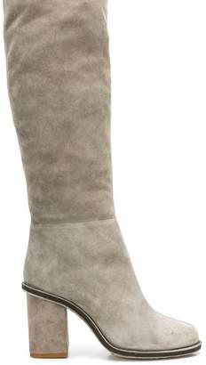 Lanvin block heel boots