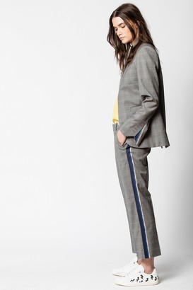 Zadig & Voltaire Posh Check Pants