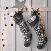 The White Company Fair Isle Christmas Stocking