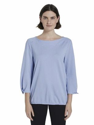 Tom Tailor Women's Schleifendetail T-Shirt