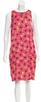 Love Moschino Sleeveless Floral Print Dress w/ Tags
