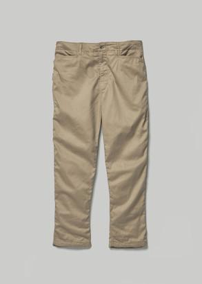 Engineered Garments Men's Painter Pant in Khaki Size Medium
