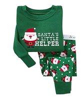 Albee Yang Christmas Boys Girls Pajamas Toddler Sleepwear Clothes for Kids 2-8 Year (2-3 Year, )