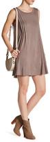Very J Sleeveless Shirt Dress